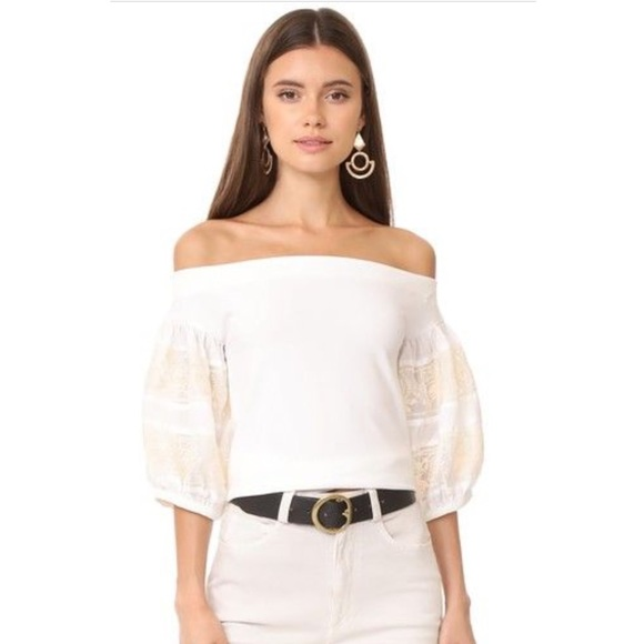 26f0a71ae9b60 Free People Tops - FREE PEOPLE ROCK WITH IT OFF SHOULDER TOP